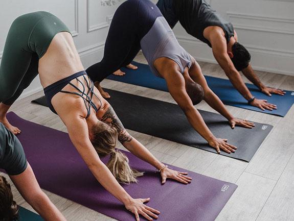 Props for the Yoga Studio